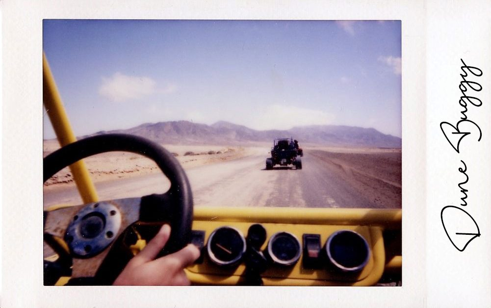The Space Passenger Instax Dune Buggy